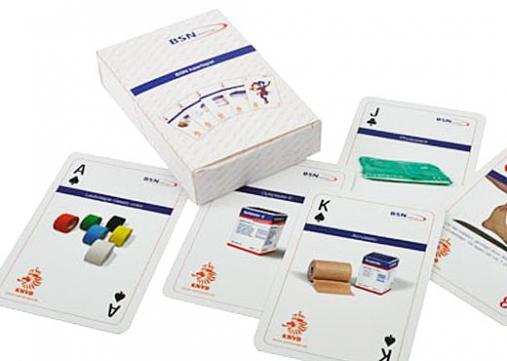 Speelkaarten met 2-zijdig custom design