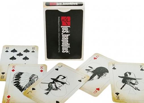 voorbeeld van  speelkaarten met compleet eigen design.